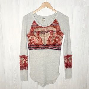 Free People | We The Free Bull Horn Thermal Sz. M